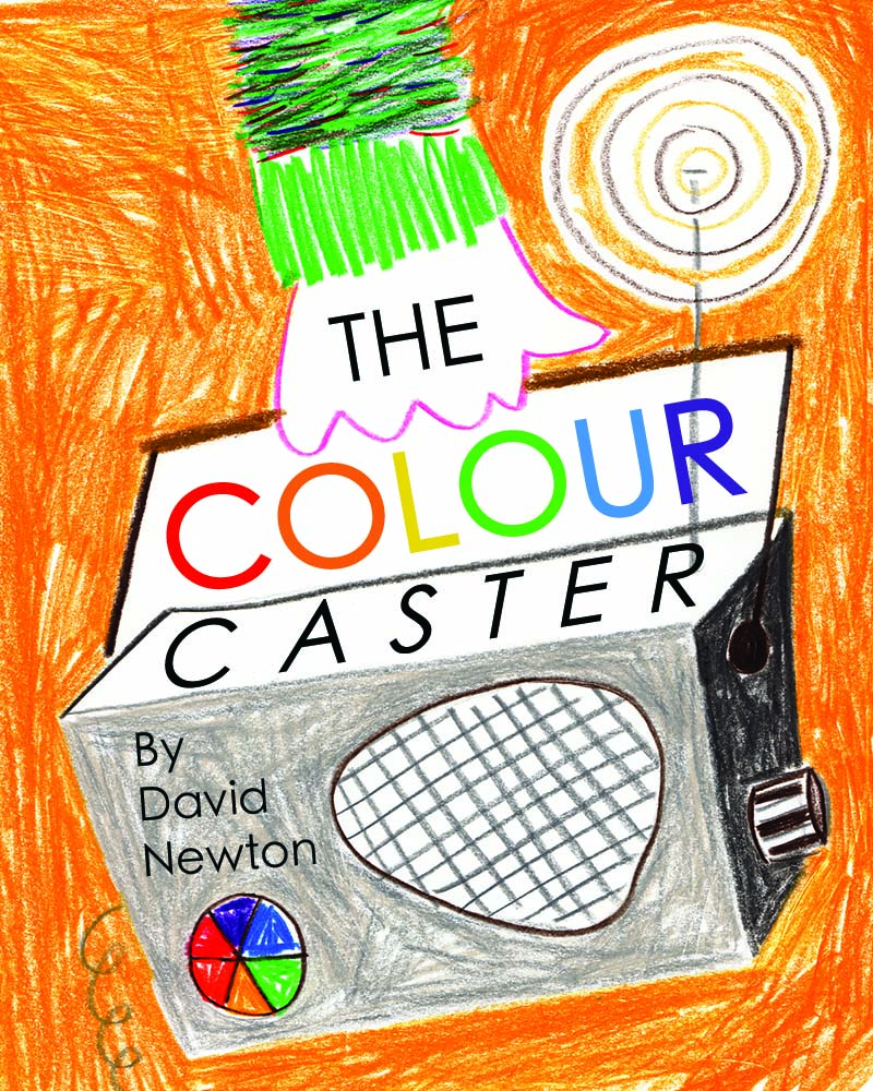 "Masters Stage children's book cover - ""Colour Caster"""