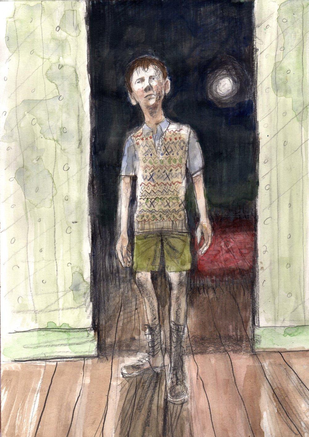 Illustration for The Trespasser