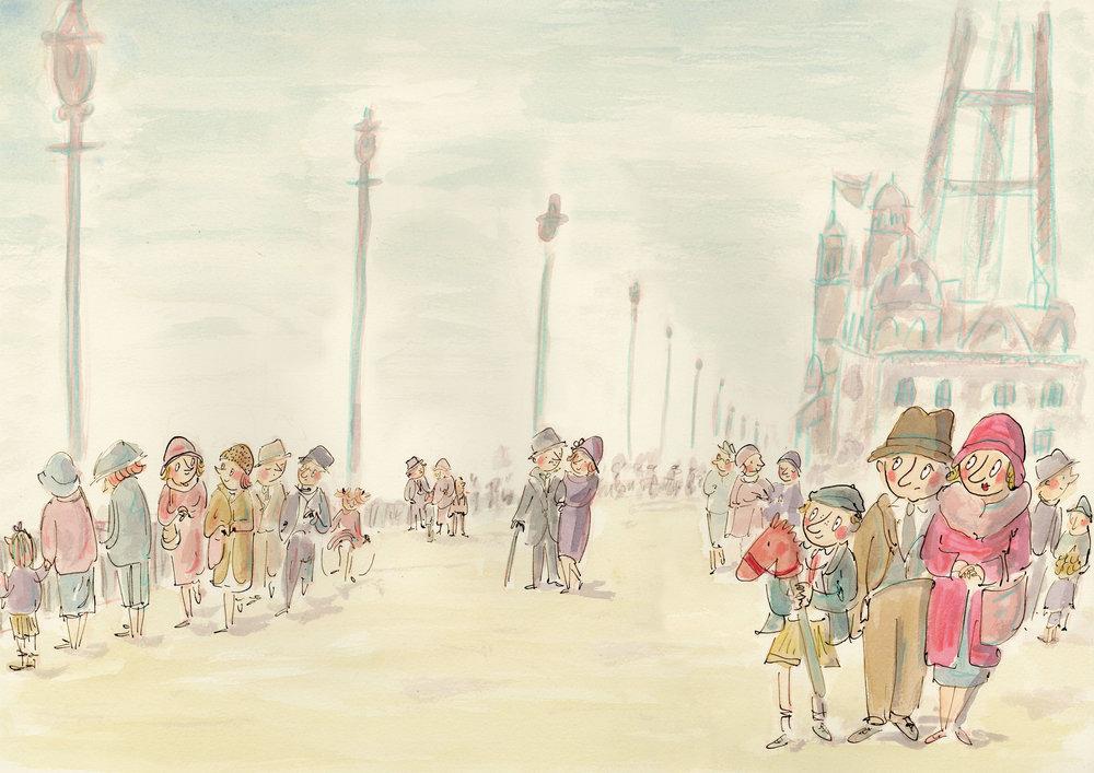 Albert in Blackpool