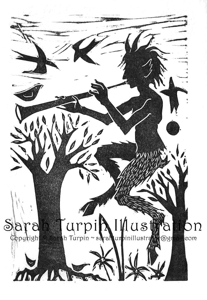 Pan ~ Faun of the Woods - Sarah Turpin