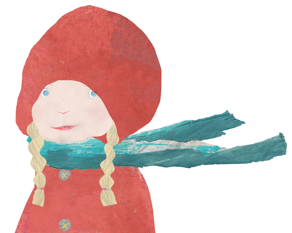 Little Red Hiding Hood - picture book
