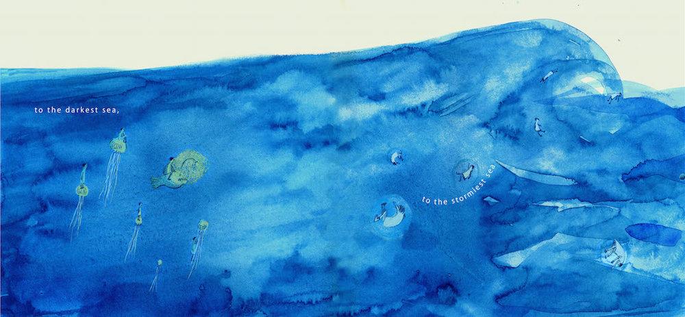 Picture book 'RAIN DROP'