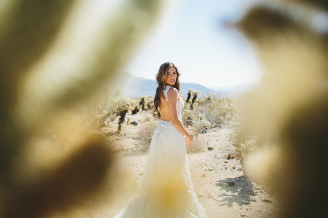 Joshua Tree Bridal Portraits