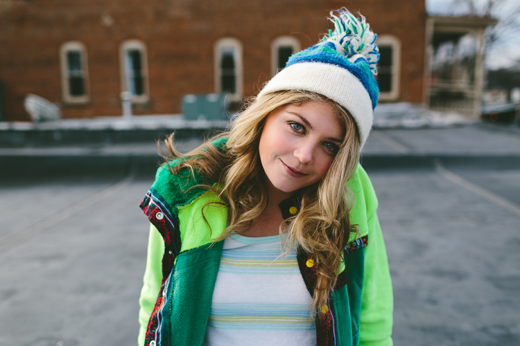 Lindsey's Winter Street Style Fashion Portrait