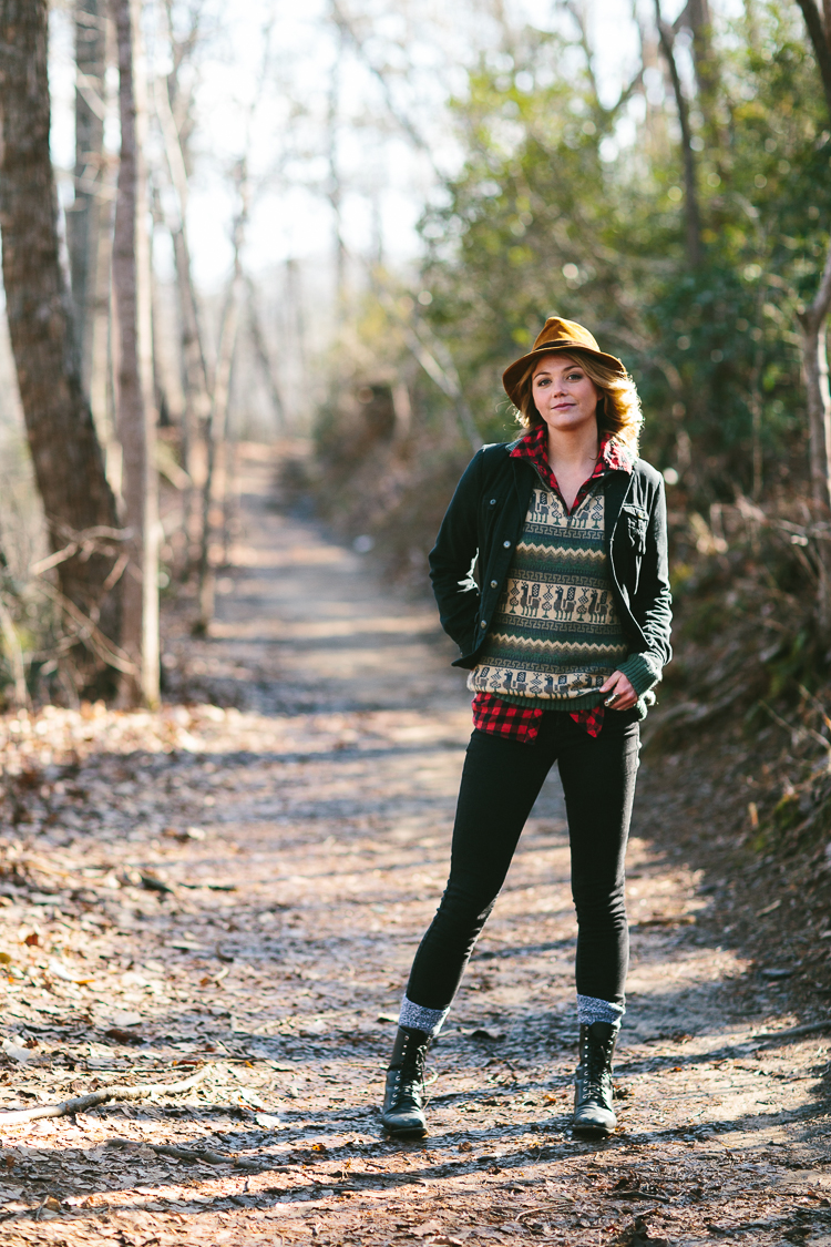 Lindsey's Fall Fashion Portrait