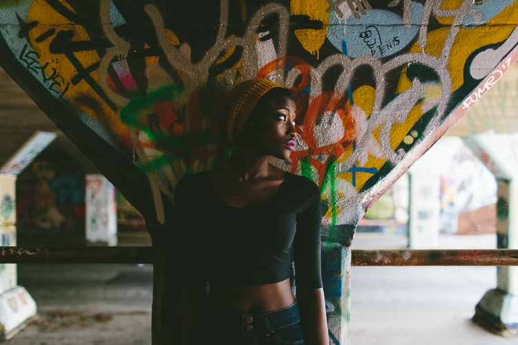 Krog Street Tunnel Fashion Portrait Street Style