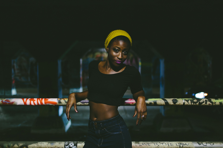 Krog Street Tunnel Fashion Portrait