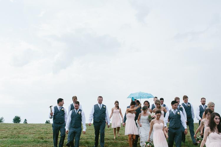 Rainy Wedding Day