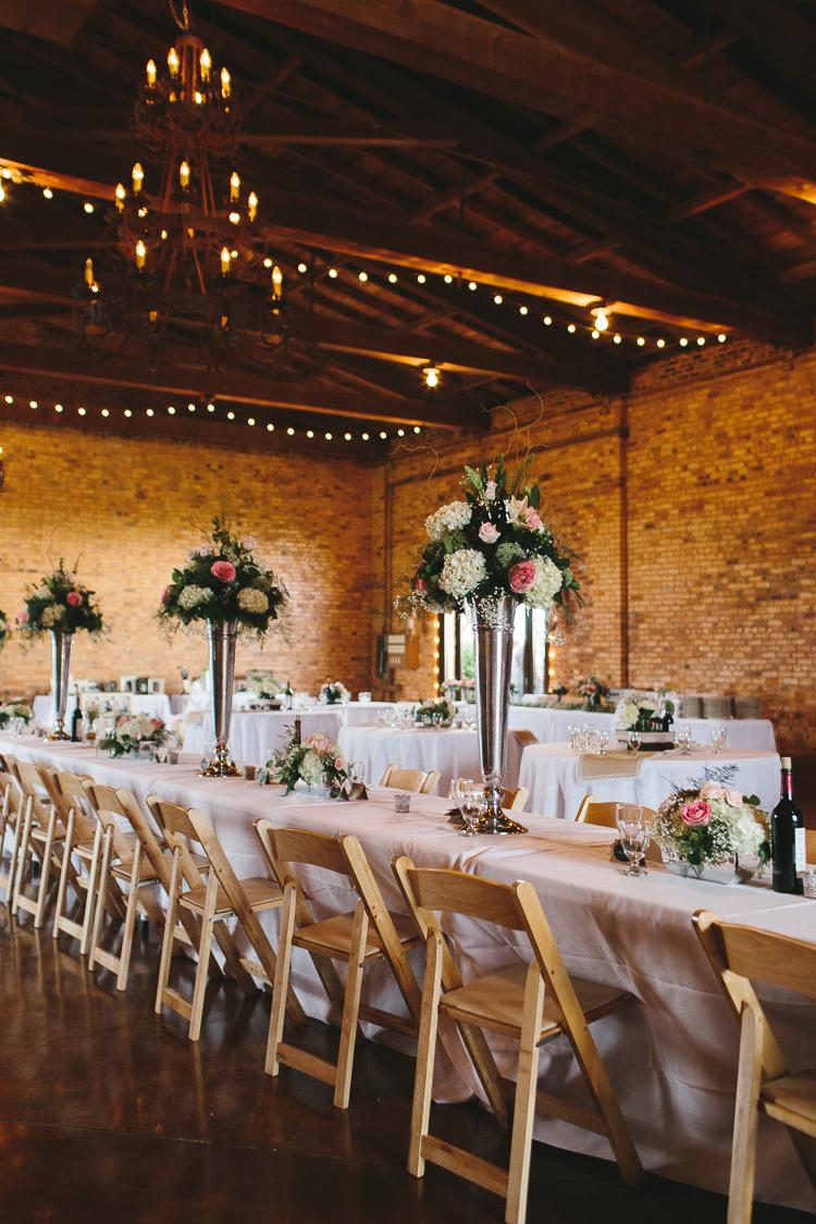 The Wedding Reception Decor