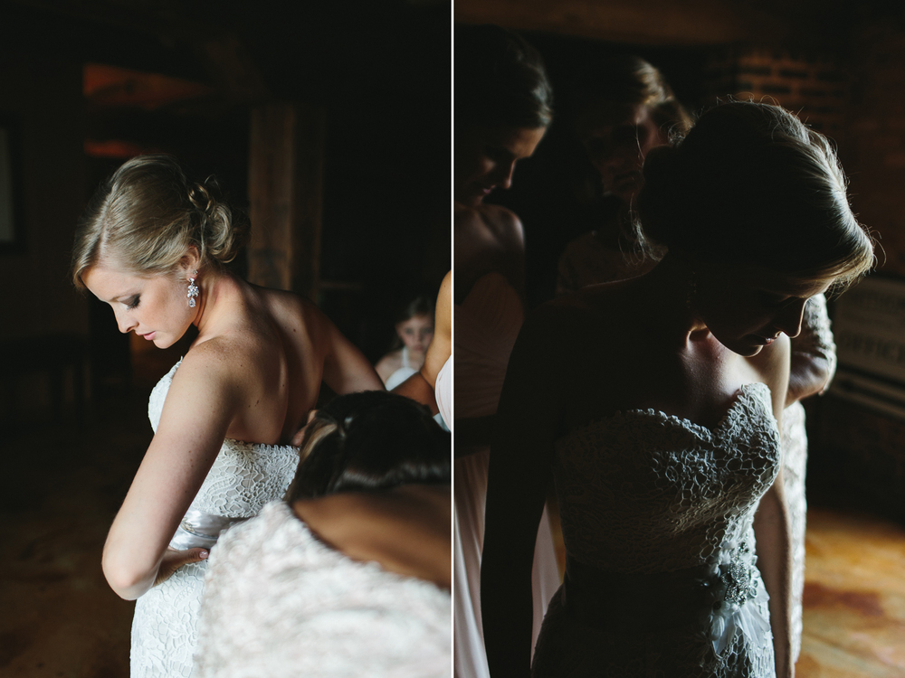 The Bride's Final Touches