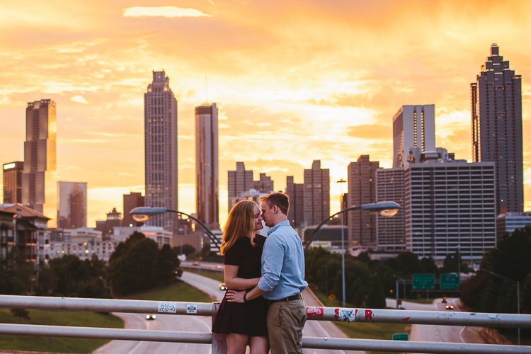 Jackson Street Bridge Engagement Session