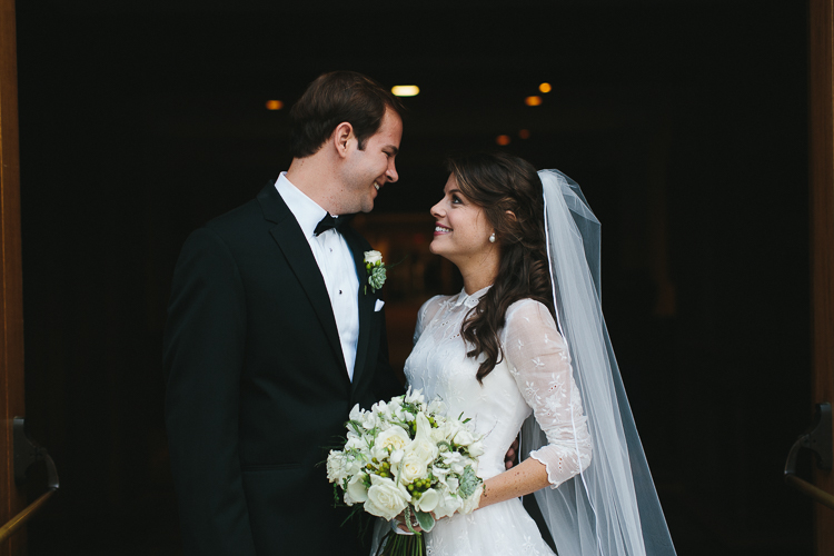 Stunning Bride and Groom Portrait