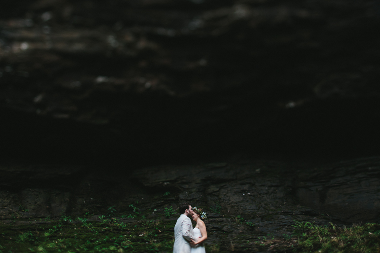 Elopement at Cloudland Canyon