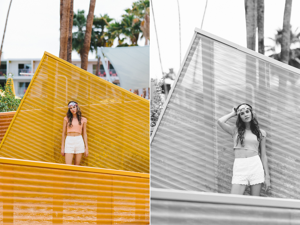Palm Springs fashion portraits