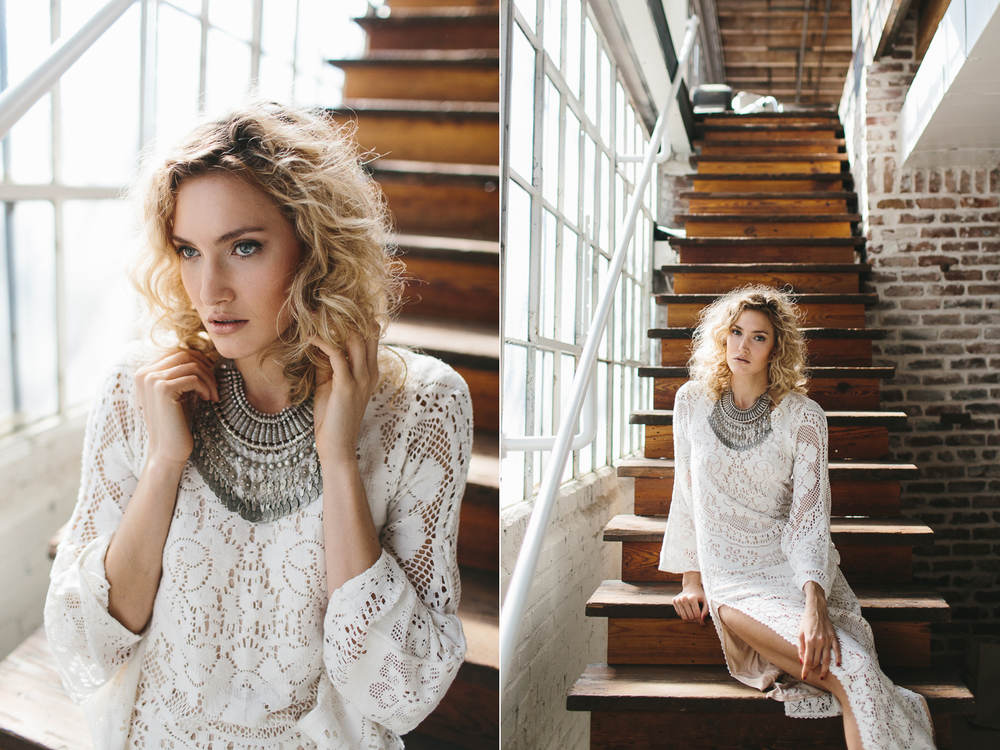 Free People inspired fashion photography at Studio Crush in Atlanta