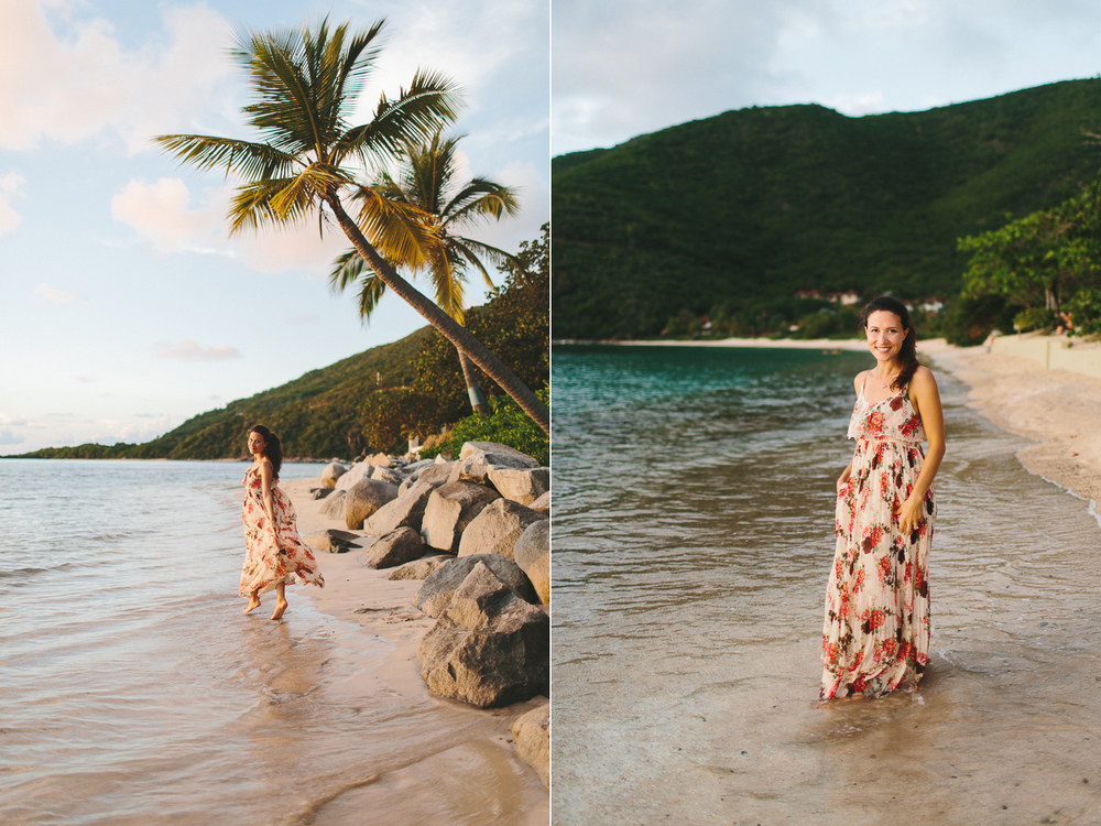 Bohemian Style Fashion Shoot on the Beach