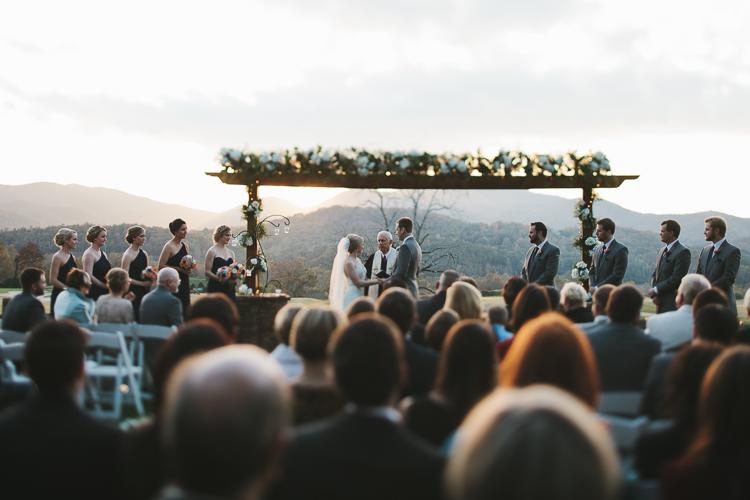 Gorgeous wedding in north Georgia