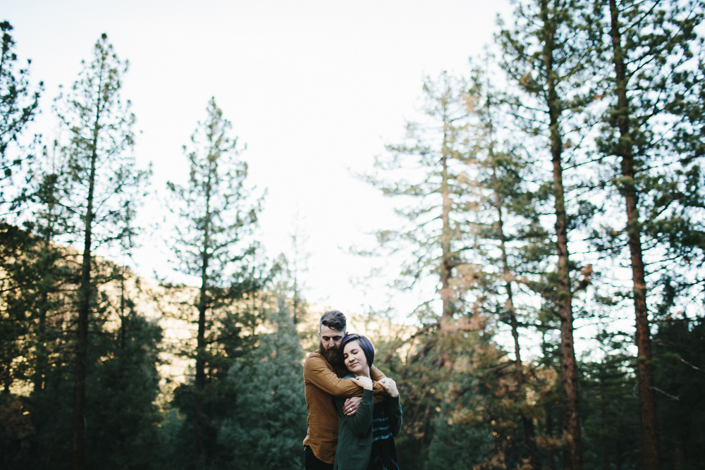 Engagement Shoot in Los Padres Mountains, California
