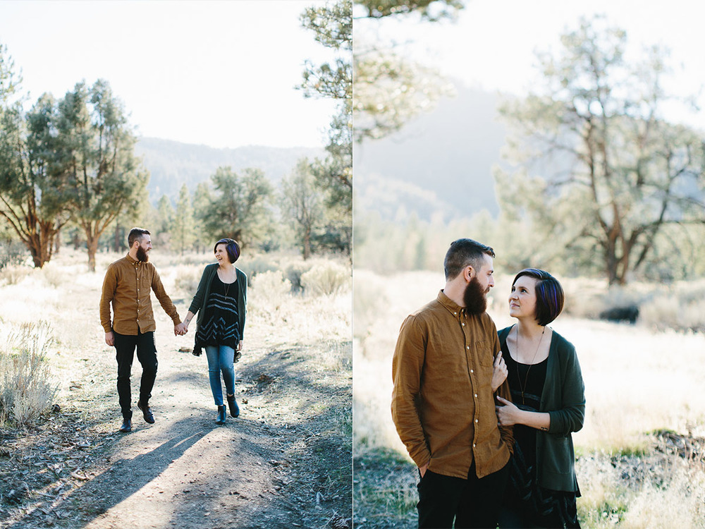 Engagement Shoot in Los Padres Mountains