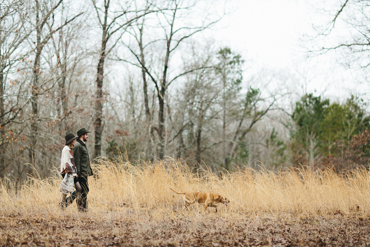 kinfolk inspired engagement portraits