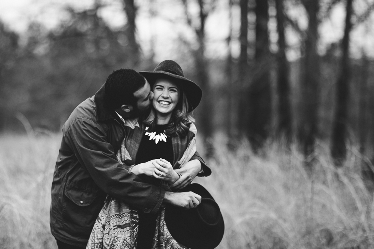 garden and gun inspired engagement portrait session