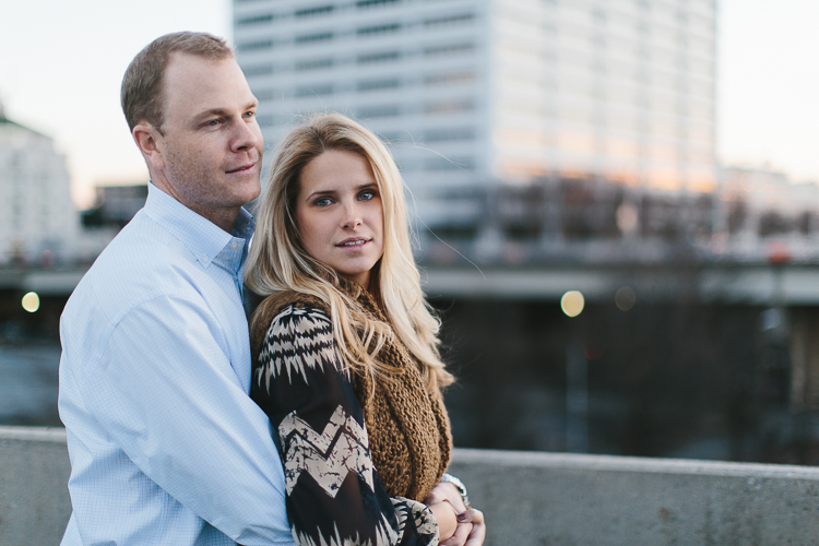 Stunning Downtown Atlanta Engagement Shoot
