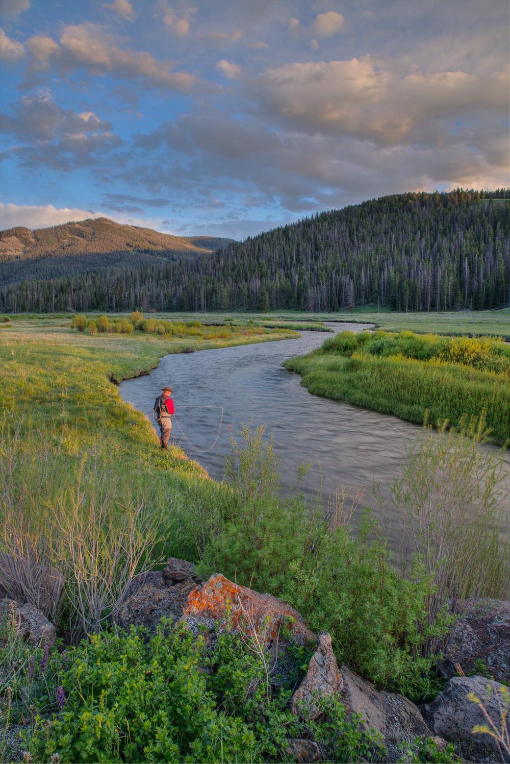 Gallatin River, YNP-Montana