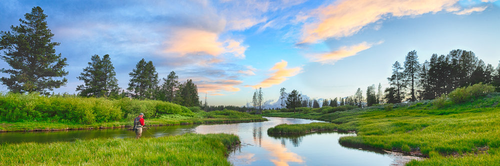 photographs landscape flyfishing montana