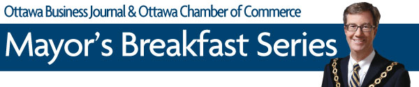A breakfast series hosted by Mayor Jim Watson that is held at City Hall eight times per year, featuring high-profile speakers from politics, public and private sector