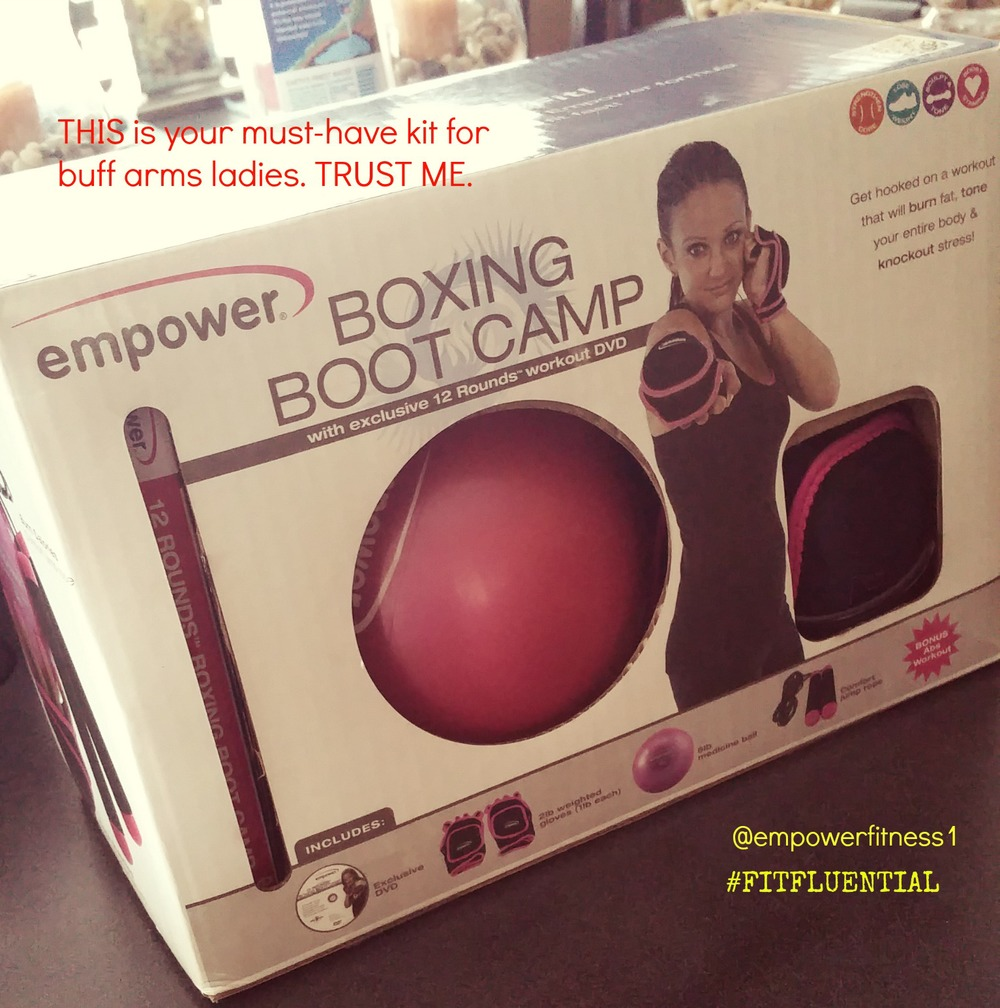 Click on the picture to get to the link for this product on their page. EMPOWER FITNESS BOXING BOOT CAMP. TOTAL PACKAGE LESS THAN $50!