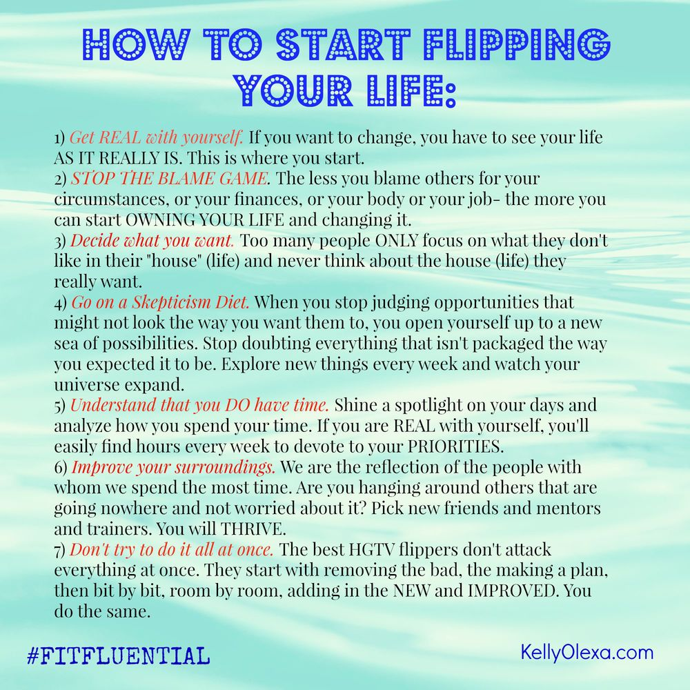 How to Start Flipping Your Life