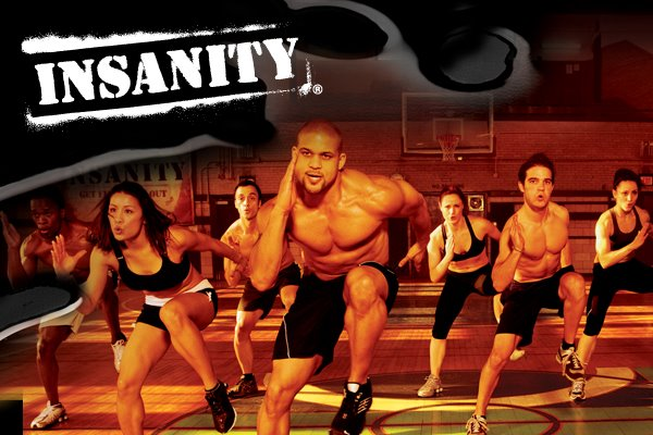 Always some of my favorite High Intensity Cardio- Insanity.