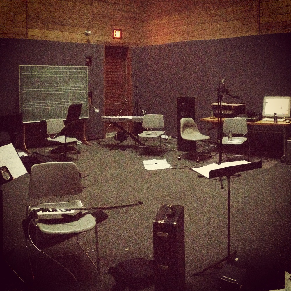Music Studio at the Atlantic Center for the Arts...