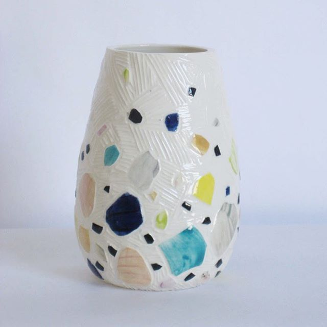 This #vase brought to you by #dalmatians and #rainbows