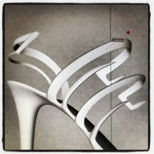 Finishing the details of the patented stiletto structure #art #design #stiletto #fashion #heel