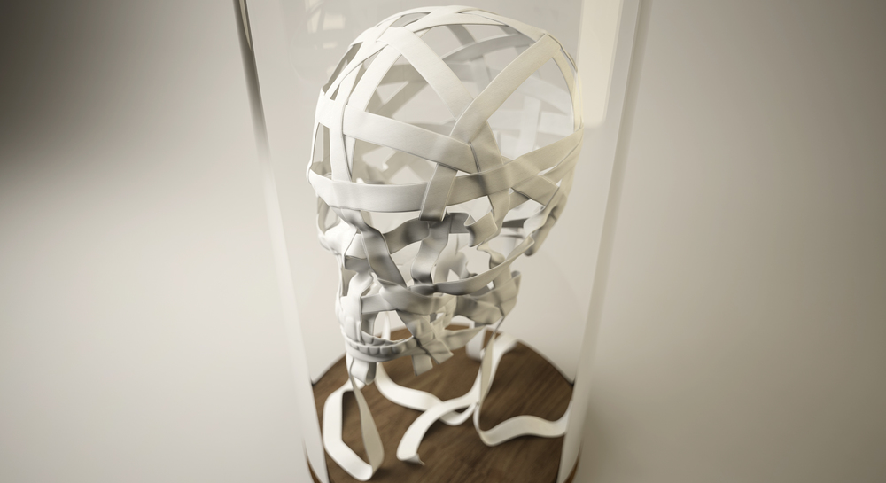 The Ribbon Skull
