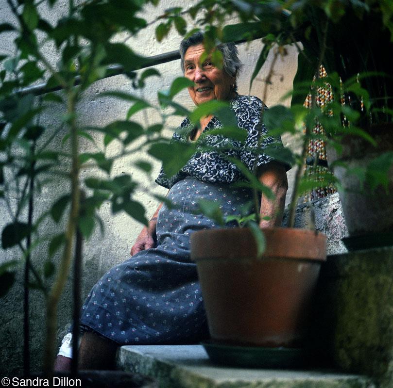 Plant Lady, San Nazario, Italy