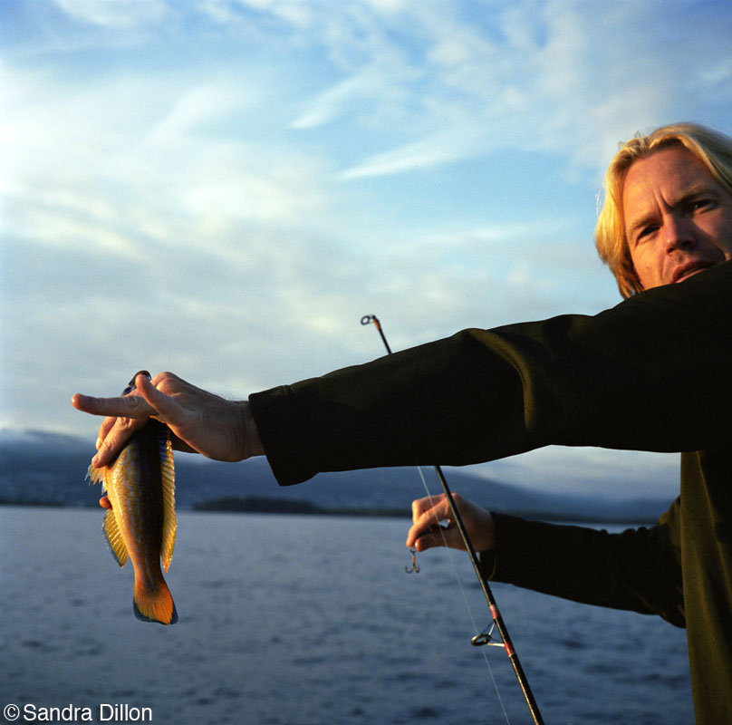 Man with Fish, Norway