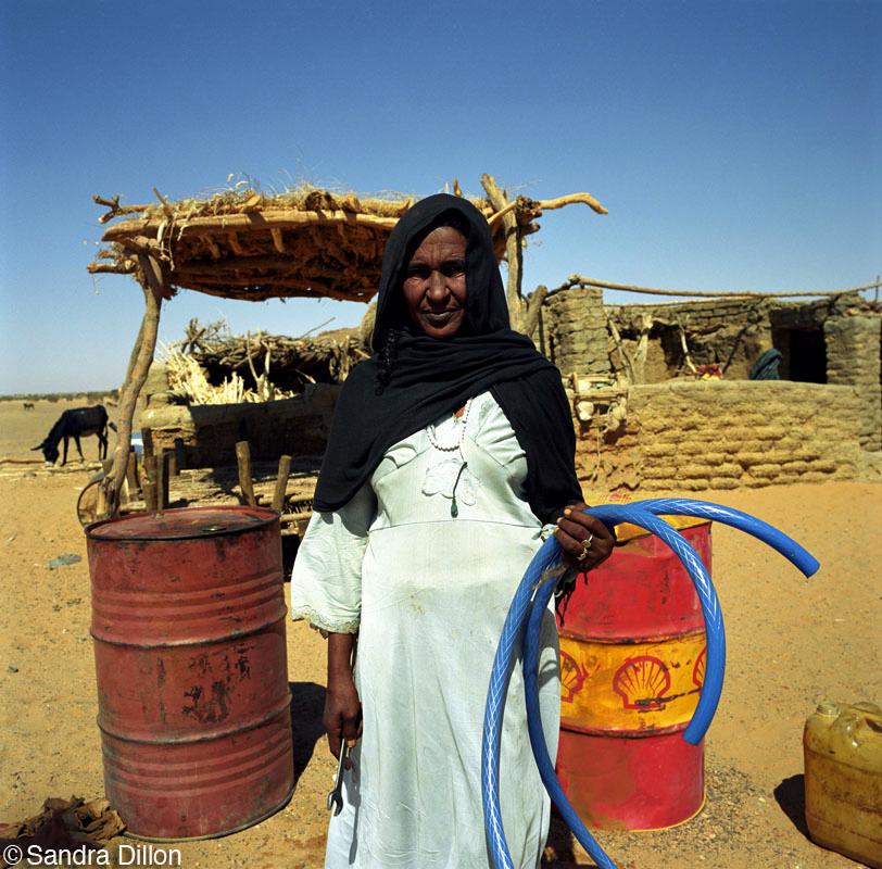 Gas Station, Bayuda Desert, Sudan