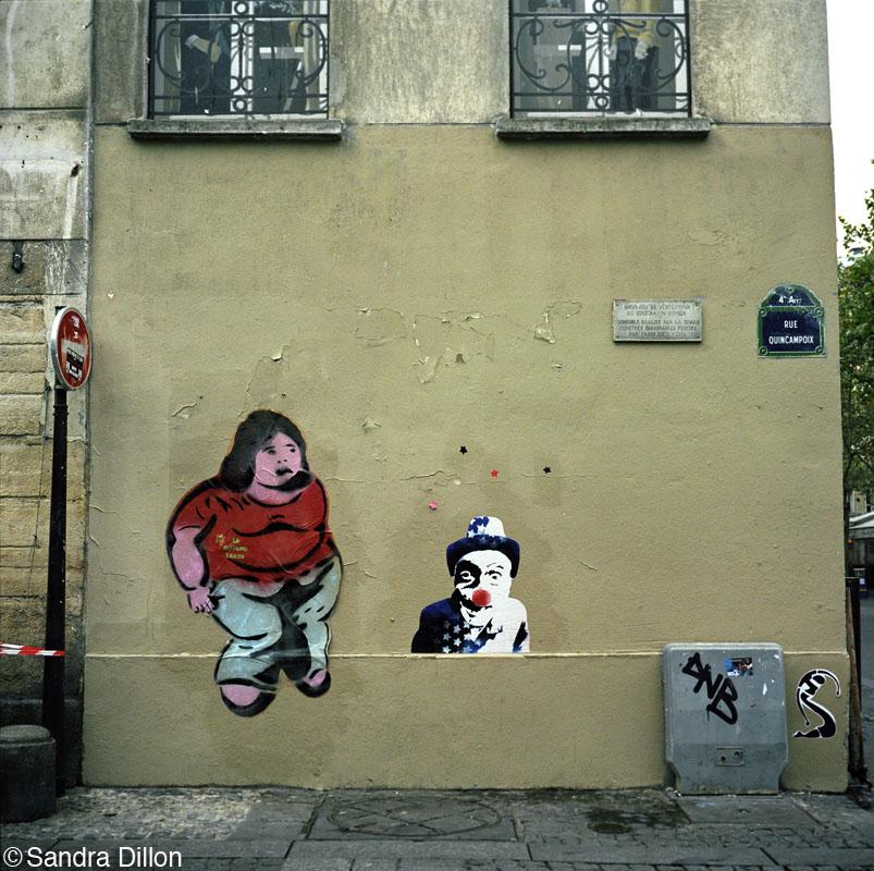 Graffiti, Paris, France
