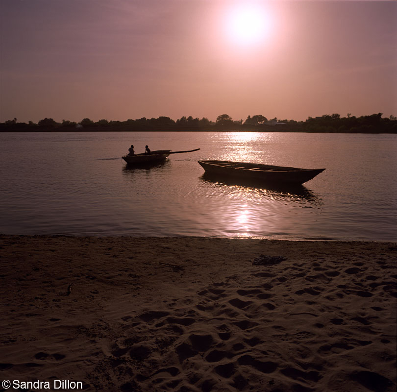 Nile Sunset, Sudan