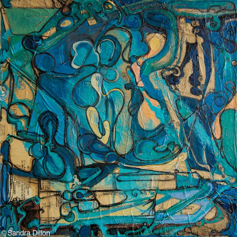 Untitled, (Blue)