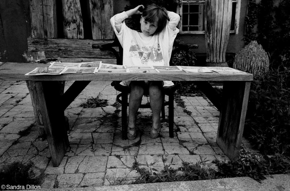 Little Merchant Girl, Prague, Czech Republic