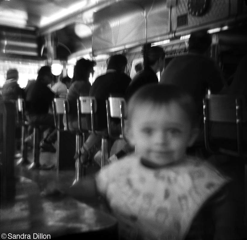 Boy in Diner