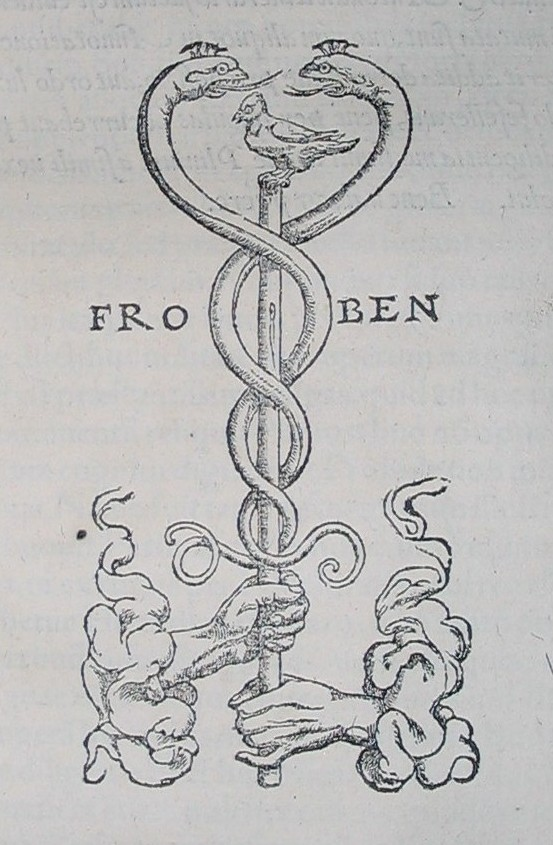 Depiction of the caduceus, a symbol of the 3 kundilini channels which feed the chakra system, being held by the hands of the divine feminine and divine masculine. Artist - Fro Ben
