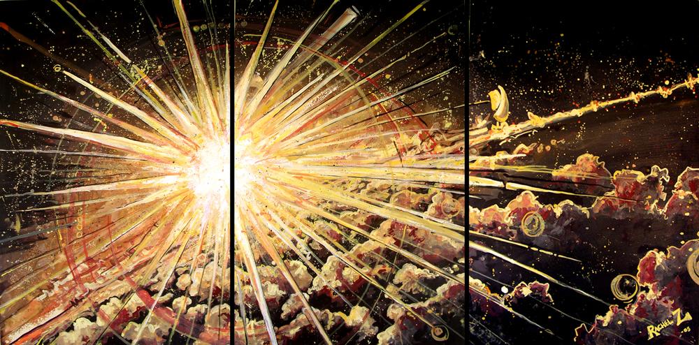 Supernebulous Explosion