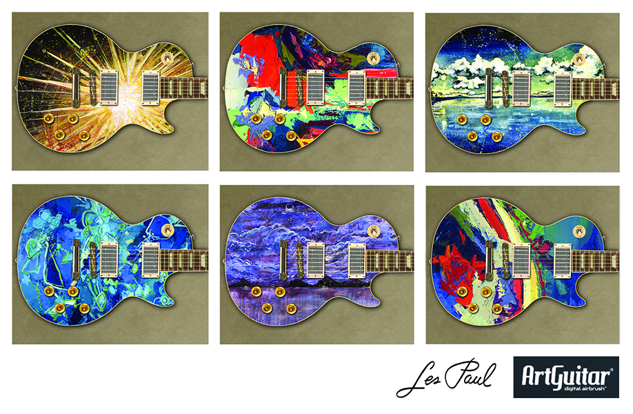Les Paul Art Guitars