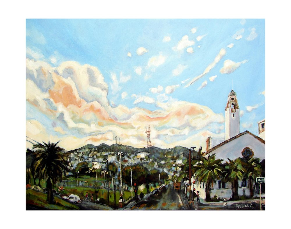Mission Dolores Park [11x14]