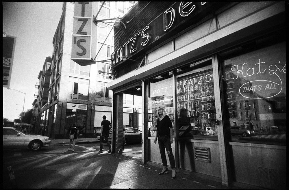 Smoking  | Katz's Deli | Houston Street, New York City