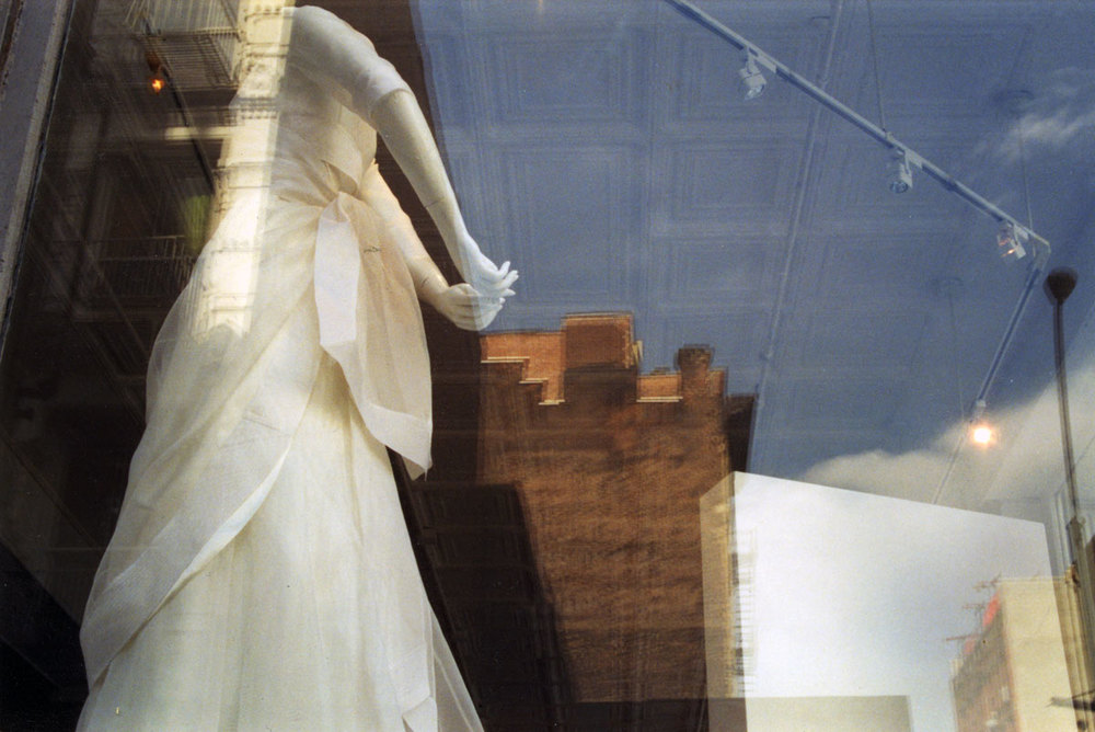 Wedding Dress, Spring Street, SOHO, New York City